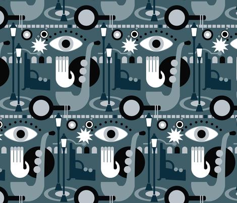 film_noir fabric by motyka on Spoonflower - custom fabric