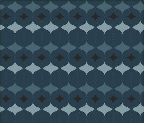 noir_pattern fabric by erijoyjoy on Spoonflower - custom fabric