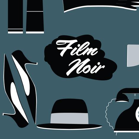 Film Noir 1950s Style