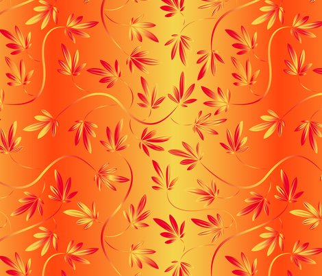 autumnleaves fabric by jillodesigns on Spoonflower - custom fabric