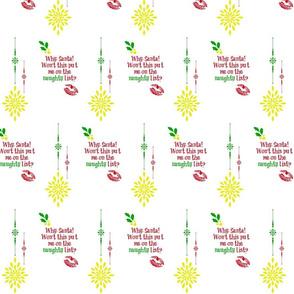 tequila_diamonds' Christmas Diamonds - Naughty