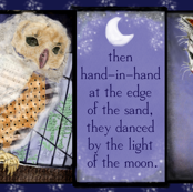 Moonlit Owl & Pussycat Panel