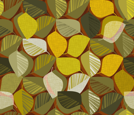 Autumnal fabric by spellstone on Spoonflower - custom fabric