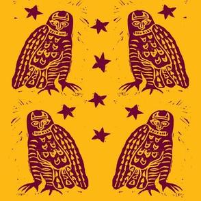Harvest Moon Owls