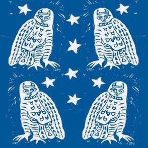 Snowy Solstice Owls