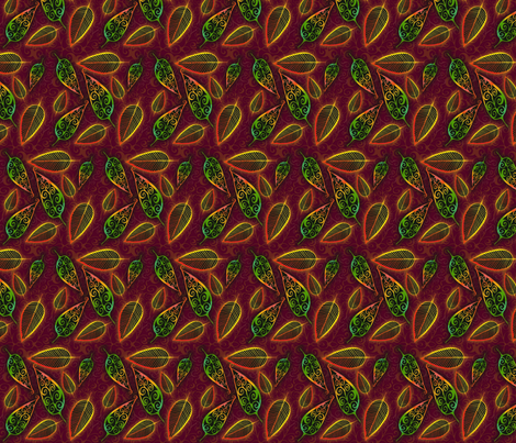 Fall Glow fabric by joonmoon on Spoonflower - custom fabric