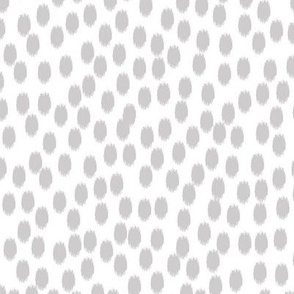 Gray and White Scattered Dots