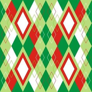 Christmas Argyle
