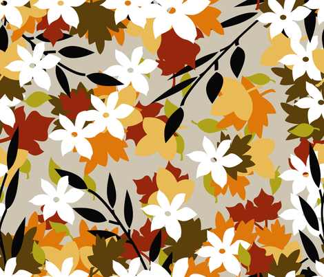 FALL fabric by mokimota on Spoonflower - custom fabric