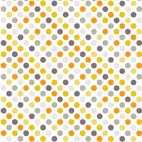 Autumn Dots Retro