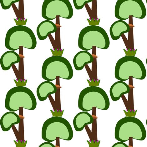 SINGLE_TREE fabric by anino on Spoonflower - custom fabric