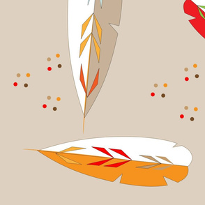 Autumn_Leaves_Patterned_fabric_print_modern_Spoonflower