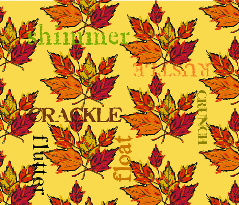 2013_Drygoods_-_Rustle_FQ fabric by drygoodsdesigner on Spoonflower - custom fabric