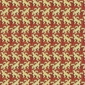 Escher Symmetry Lizard & Beast