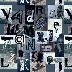 SHATTERED_GLASS_GRUNGE LETTERS