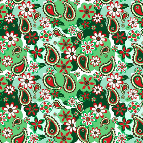 Holiday Paisley