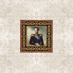 White Damask Tsar Nicholas I