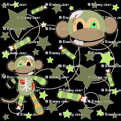 Ralph the Zombie Monkey - Pattern
