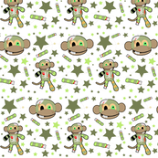 Ralph the Zombie Monkey - Pattern