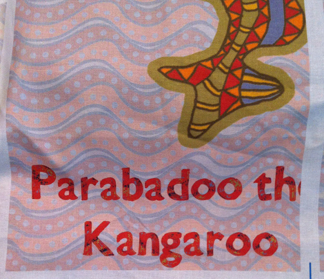 Cut'n'Sew Parabadoo the Kangaroo