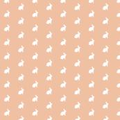 White Bunny Peach