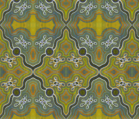 Sea_Turtles fabric by laura_bowen on Spoonflower - custom fabric