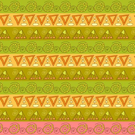 geometric fabric by isamelisa on Spoonflower - custom fabric