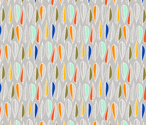 All Fall Down fabric by nadiahassan on Spoonflower - custom fabric