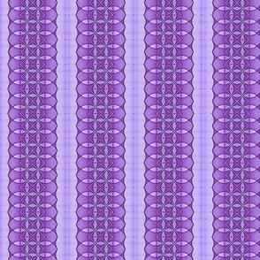 Purple Sine Dot Stripe