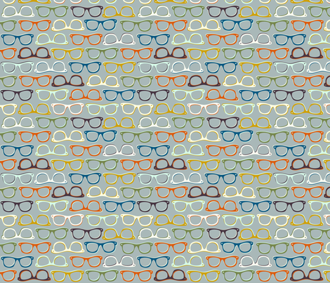 Spec-tacular fabric by nadiahassan on Spoonflower - custom fabric