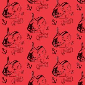 Bulldog Bolzplatzrocker Chicco rot-ch