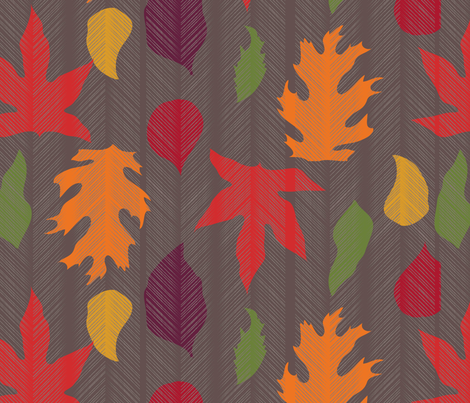 Falling_Leaves fabric by betsyberry1984 on Spoonflower - custom fabric