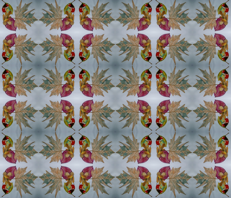 Autumn leafs fabric by kyselinka on Spoonflower - custom fabric