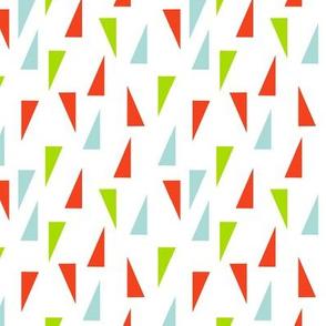 Triangle Confetti - Christmas