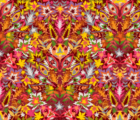 Autumn Splendour fabric by paula's_designs on Spoonflower - custom fabric