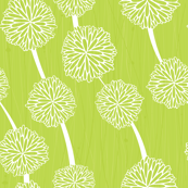 PomPoms in Green by Friztin