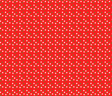 Christmas Dots fabric by helpful~elf on Spoonflower - custom fabric