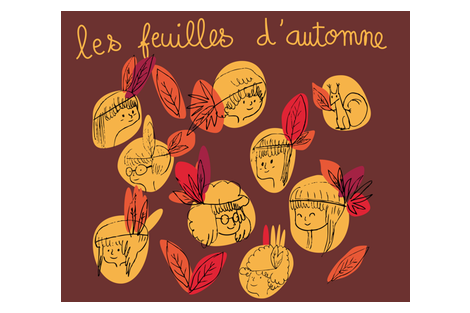 feuilles d'automne fabric by gato on Spoonflower - custom fabric