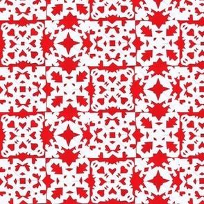 mitten snowflake block