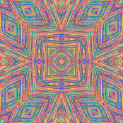 Colored String Kaleidoscope
