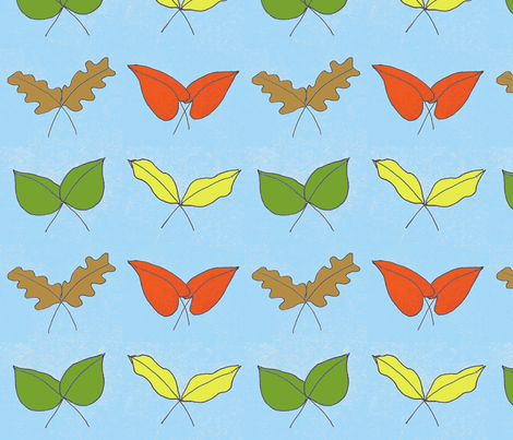 fall in love fabric by sioux_nique on Spoonflower - custom fabric