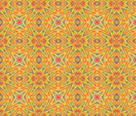 Tangerine Playtime fabric by koalalady on Spoonflower - custom fabric