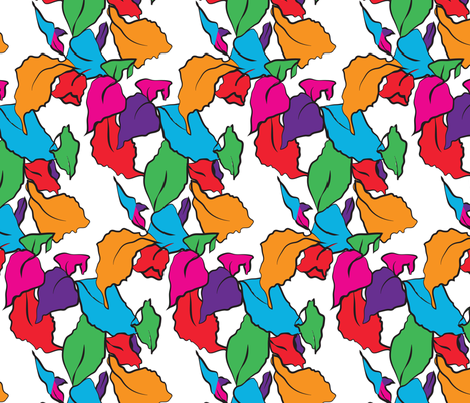 leaf_square fabric by amyloudesigns on Spoonflower - custom fabric