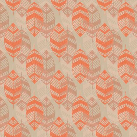Falling Leaves fabric by kimsa on Spoonflower - custom fabric