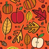 Autumn Leaves (orange)