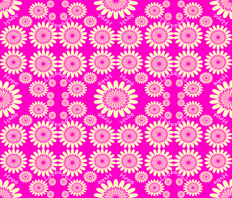 Pink_Hope_Love fabric by sew_delightful on Spoonflower - custom fabric