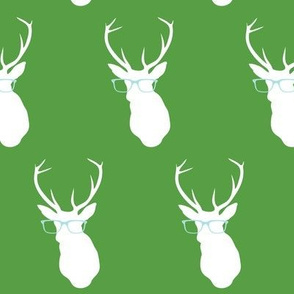 Smarty Pants Deer, Green