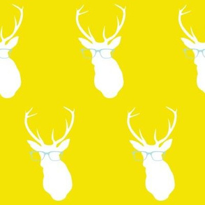 Smarty Pants Deer, Mustard