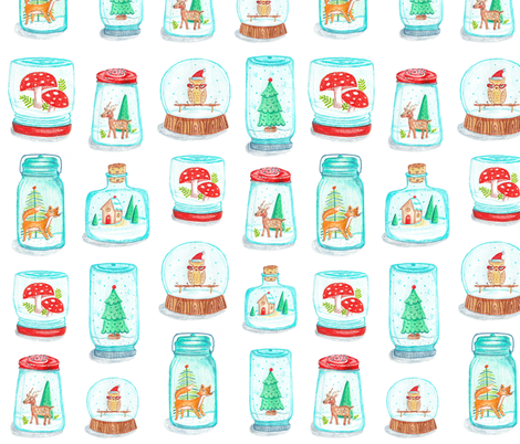 Kitsch Snow Globes