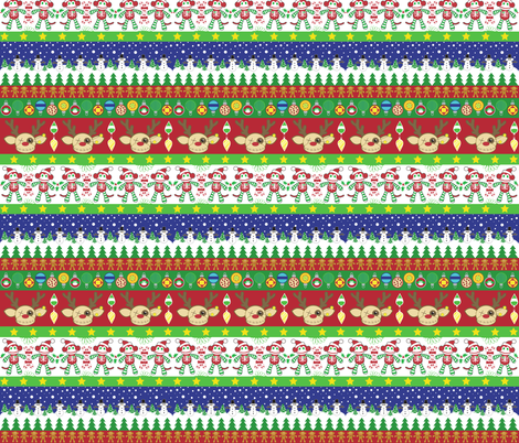 A Very Macabre Ugly Sweater fabric by pumpkinbones on Spoonflower - custom fabric
